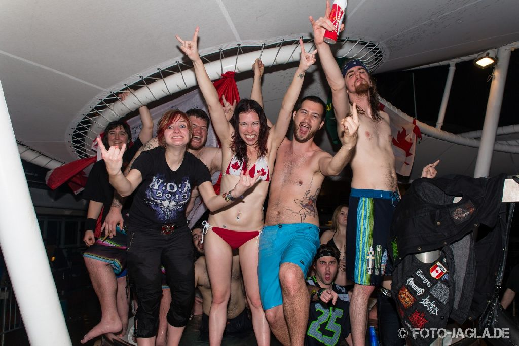 70000 Tons of Metal 2014 ::. Hot tub impression