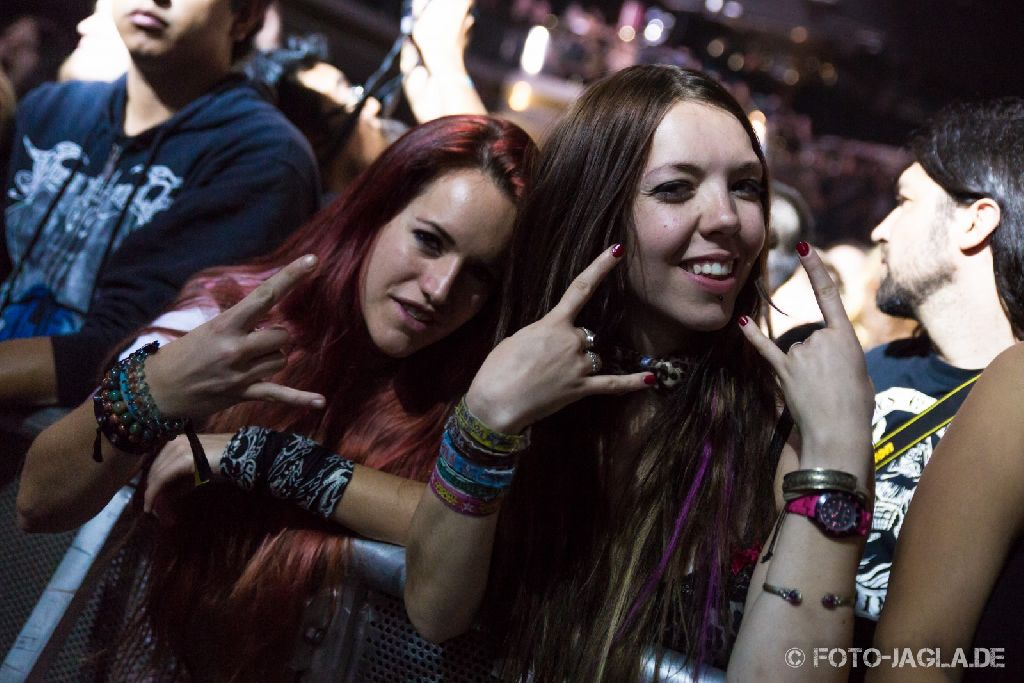 70000 Tons of Metal 2014 ::. Crowd @ Finntroll