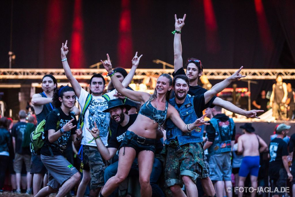 Metaldays 2014 ::. Infield impression in front of main stage