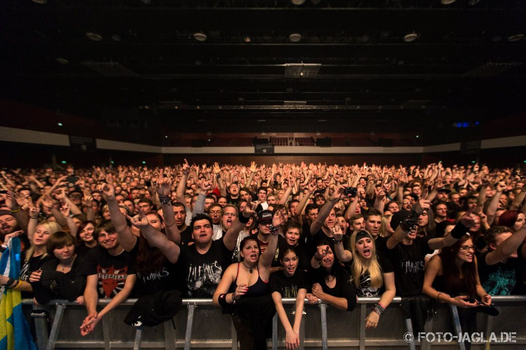 In Flames ::. Tour 2014 in Bochum, Ruhrcongress ::. 01. November 2014