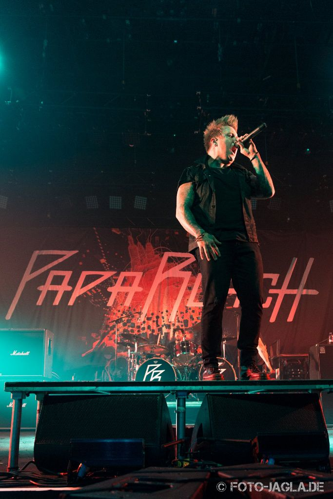 Papa Roach ::. In Flames Tour 2014 in Köln, Palladium ::. 31. Oktober 2014