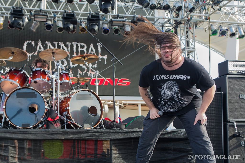 70000 Tons of Metal 2015 ::. Cannibal Corpse