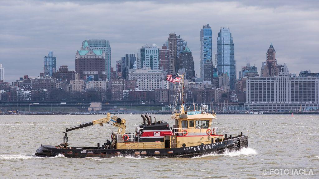 New York Hudson River Januar 2017