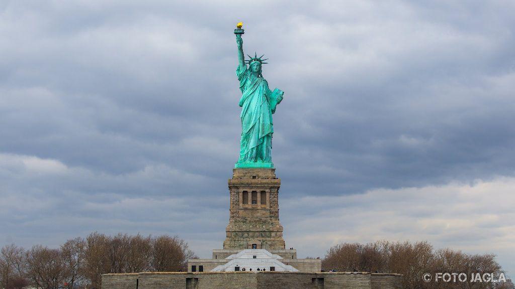 New York - Liberty Island Statue Of Liberty (Freiheitsstatue) Januar 2017
