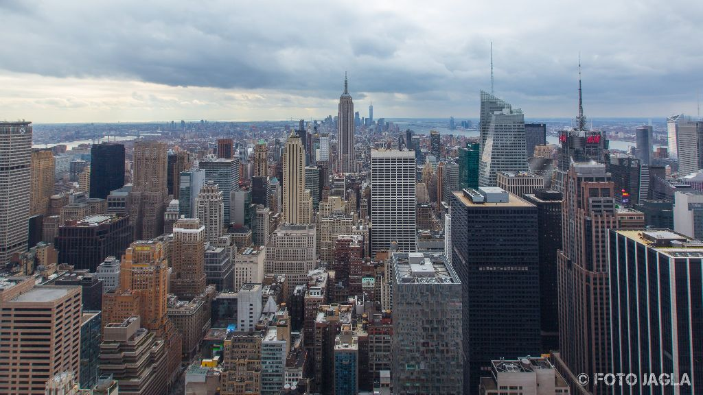 New York Top of the Rock (Rockefeller Centre) Januar 2017
