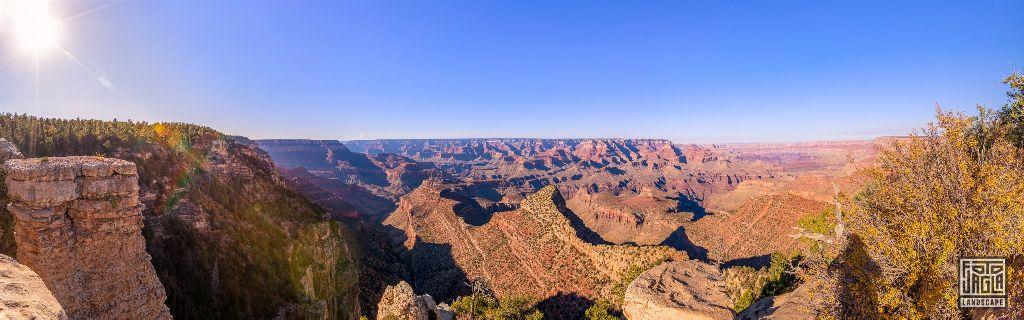 Grand Viewpoint in Grand Canyon Village Arizona, USA 2019