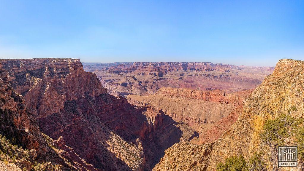 Along the Desert View Drive in Grand Canyon Village Arizona, USA 2019