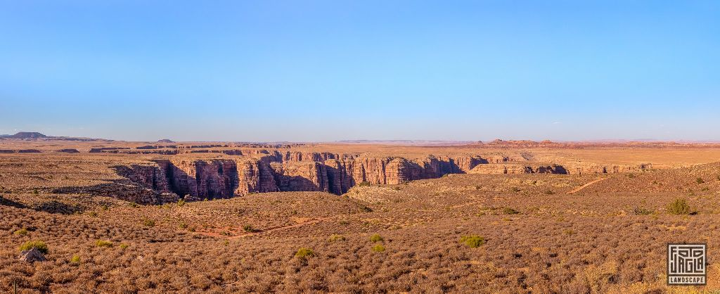 Desert View Drive in Cameron Arizona, USA 2019