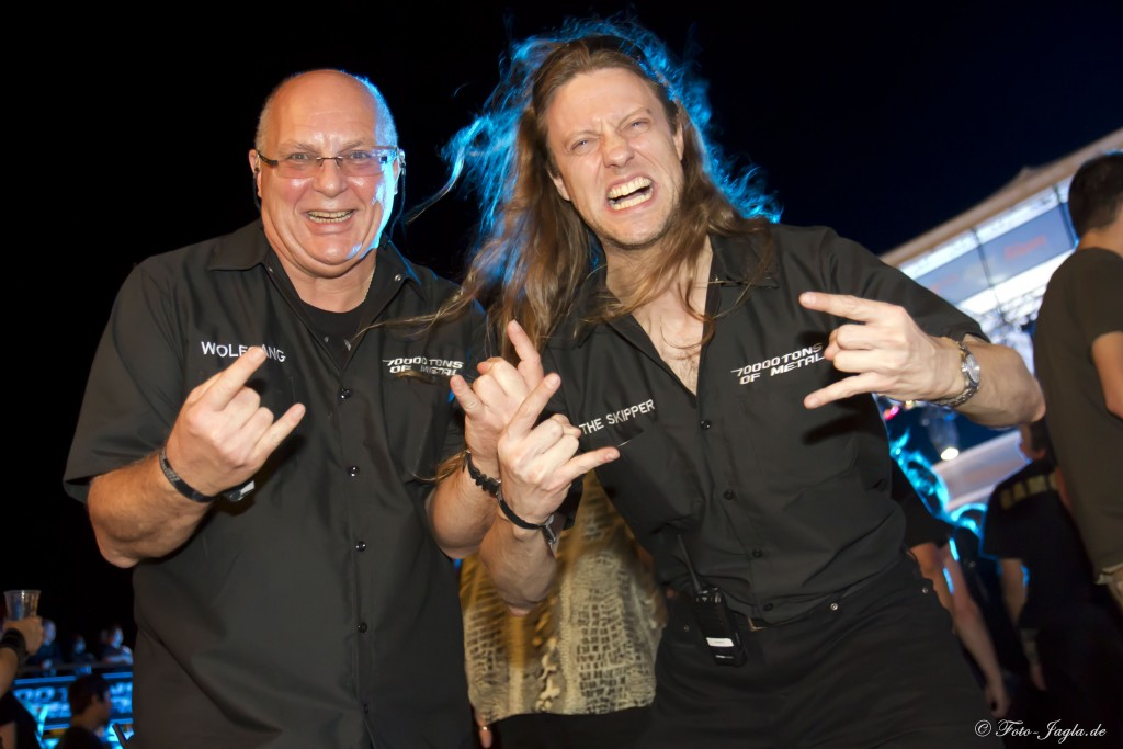 70000 Tons of Metal 2012 ::. Miami, Florida ::. Wolfgang Rott and Andy Piller