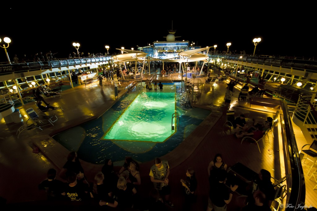 70000 Tons of Metal 2012 ::. Miami, Florida ::. Pool Deck