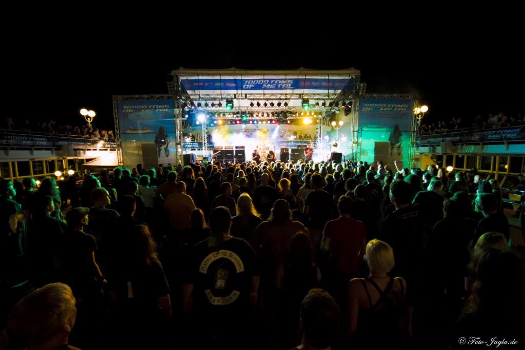70000 Tons of Metal 2012 ::. Miami, Florida ::. Pool Deck