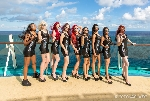 70000 Tons of Metal 2015 ::. Shooting with Poolgirls on Pooldeck