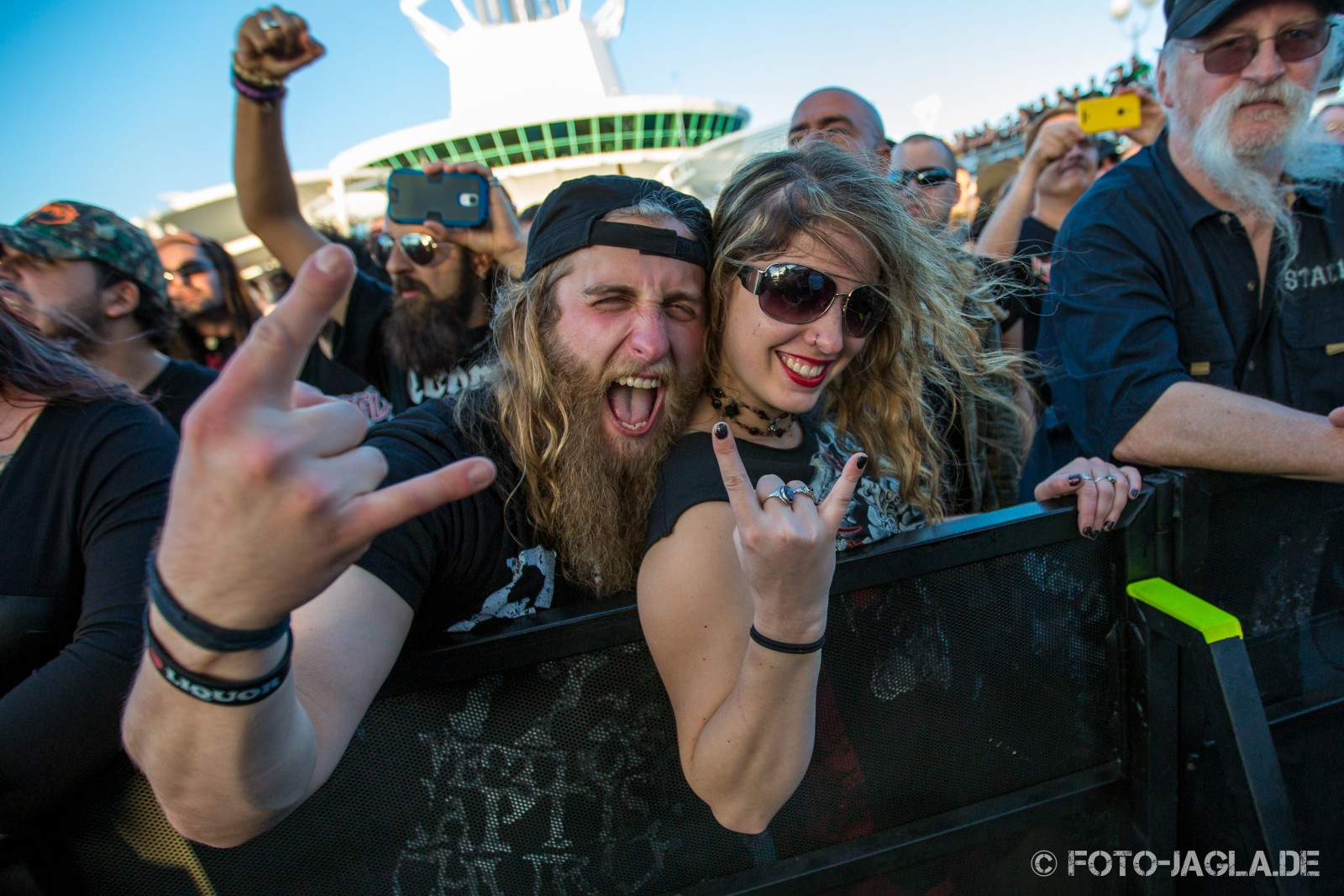 70000 Tons of Metal 2014 ::. Crowd @ The Haunted