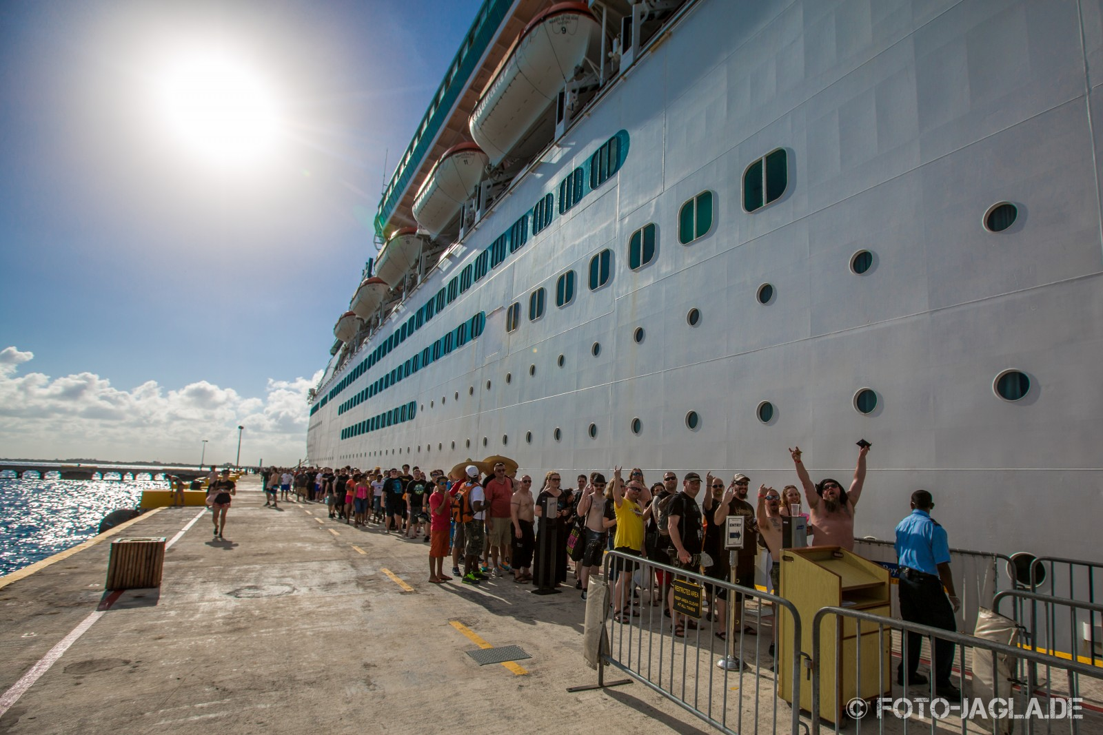 70000 Tons of Metal 2014 ::. Costa Maya, Mexico