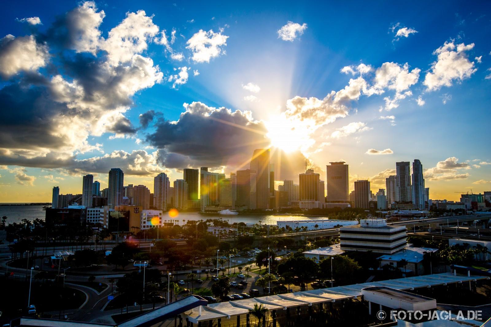 Miami 2013 im Sonnenuntergang