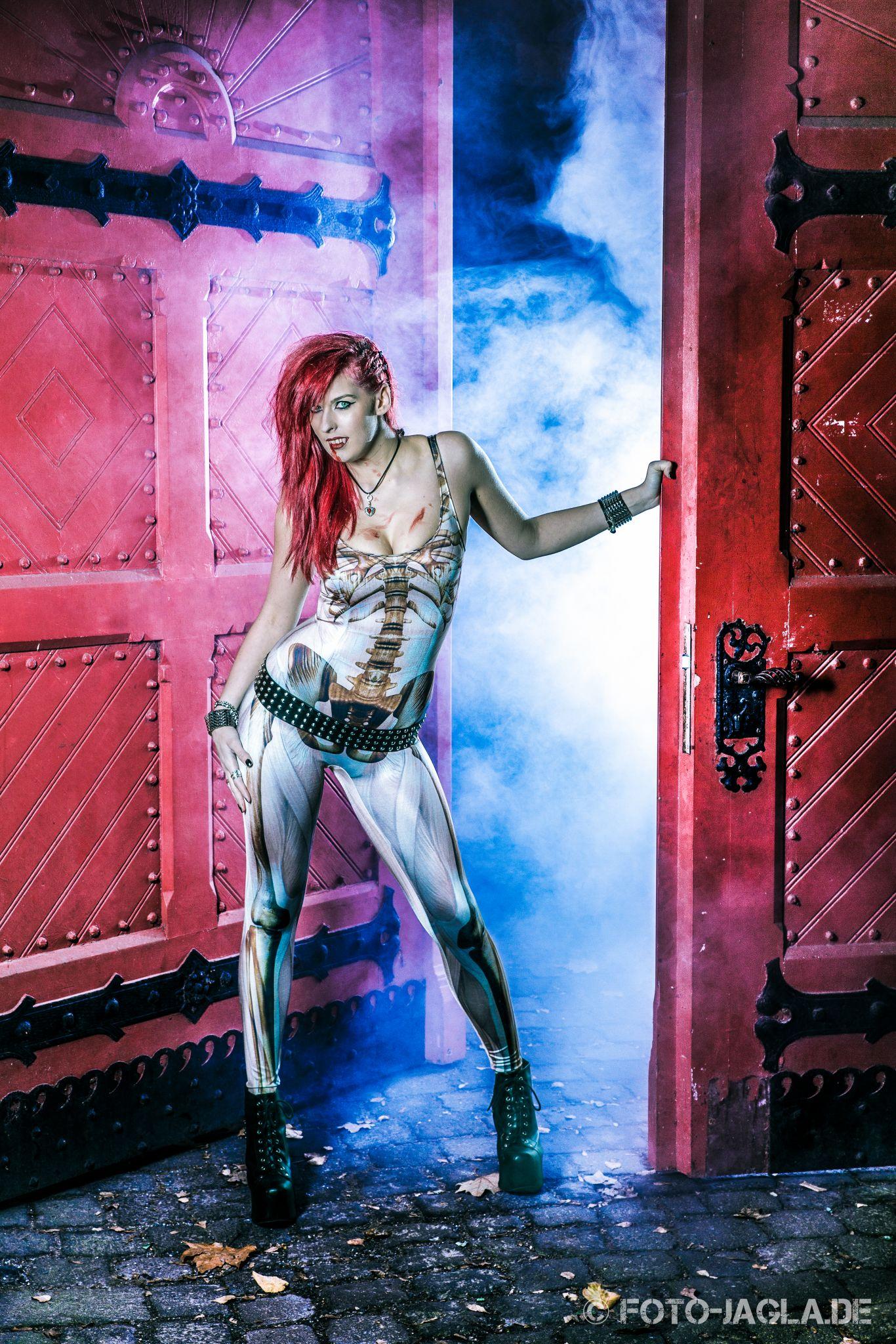Halloween Shooting mit Jessy Angel