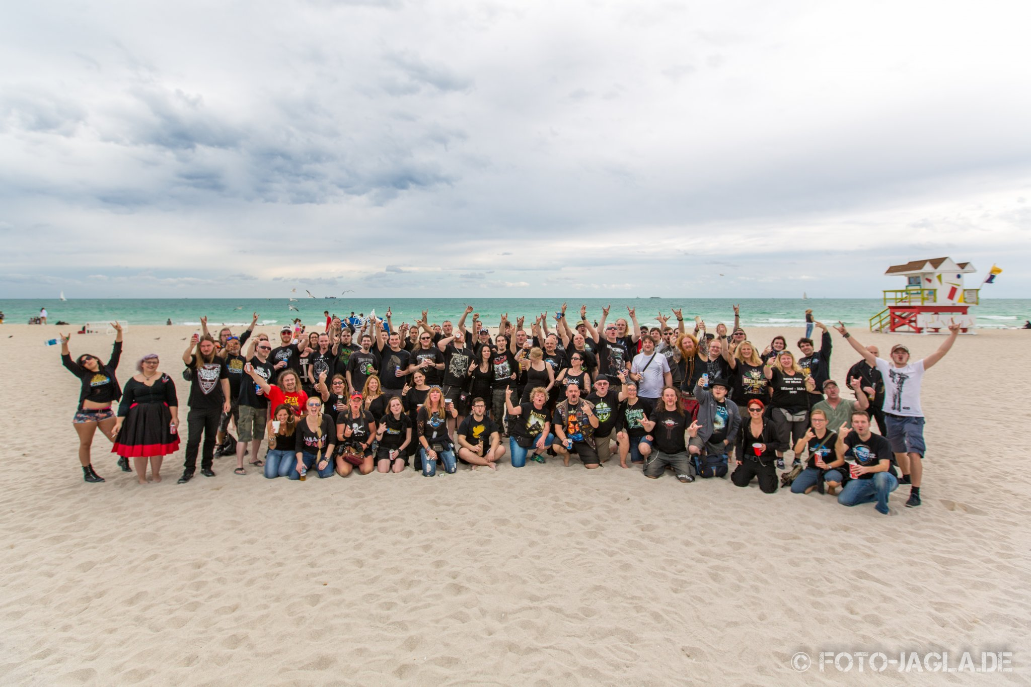 70000 Tons of Metal 2015 ::. Beachparty @ South Beach, Miami