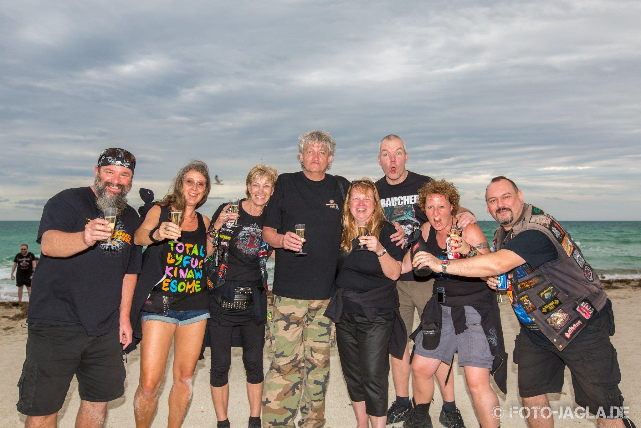 70000 Tons of Metal 2015 ::. Beachparty @ South Beach, Miami