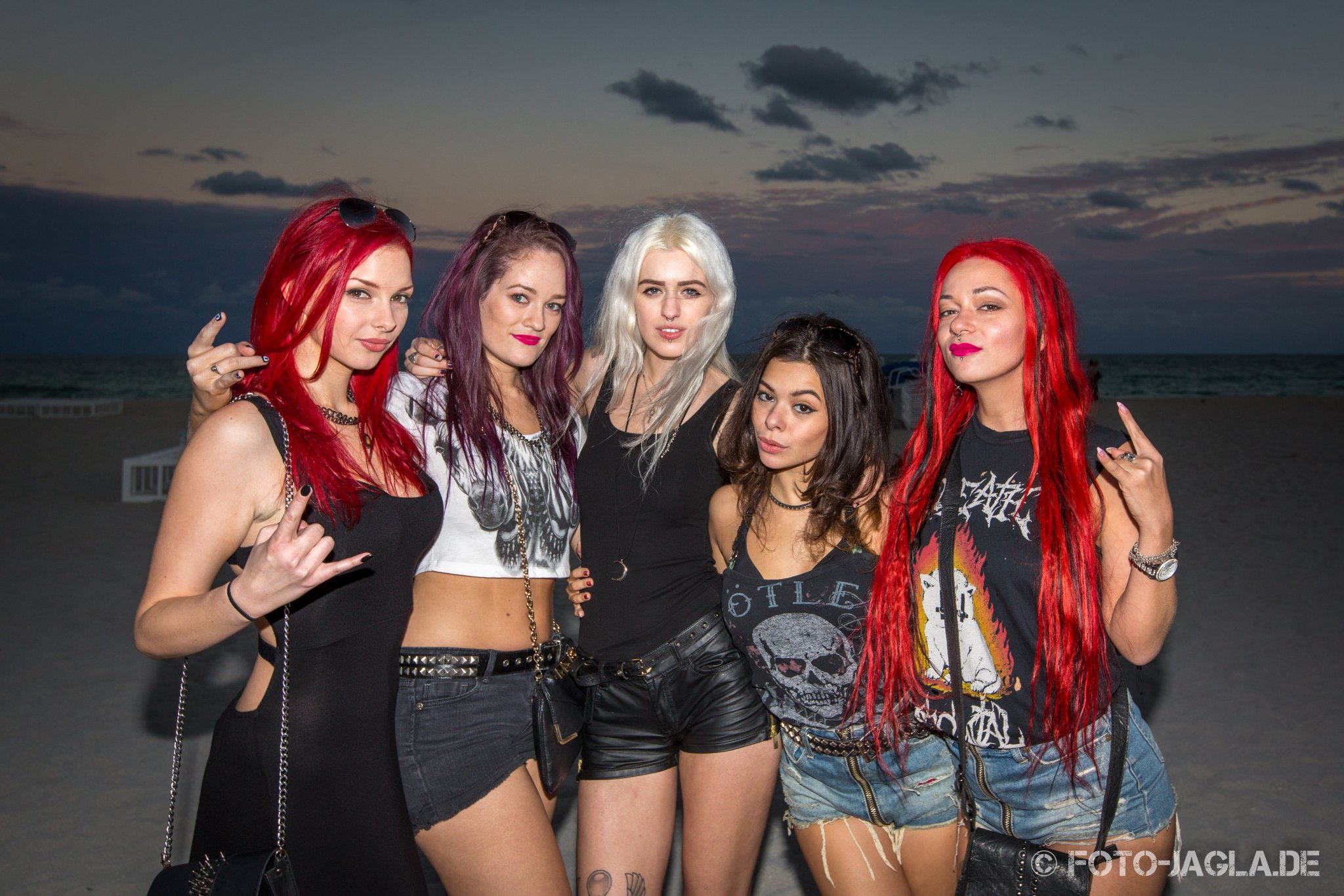 70000 Tons of Metal 2015 ::. Poolgirls @ Beachparty - South Beach, Miami