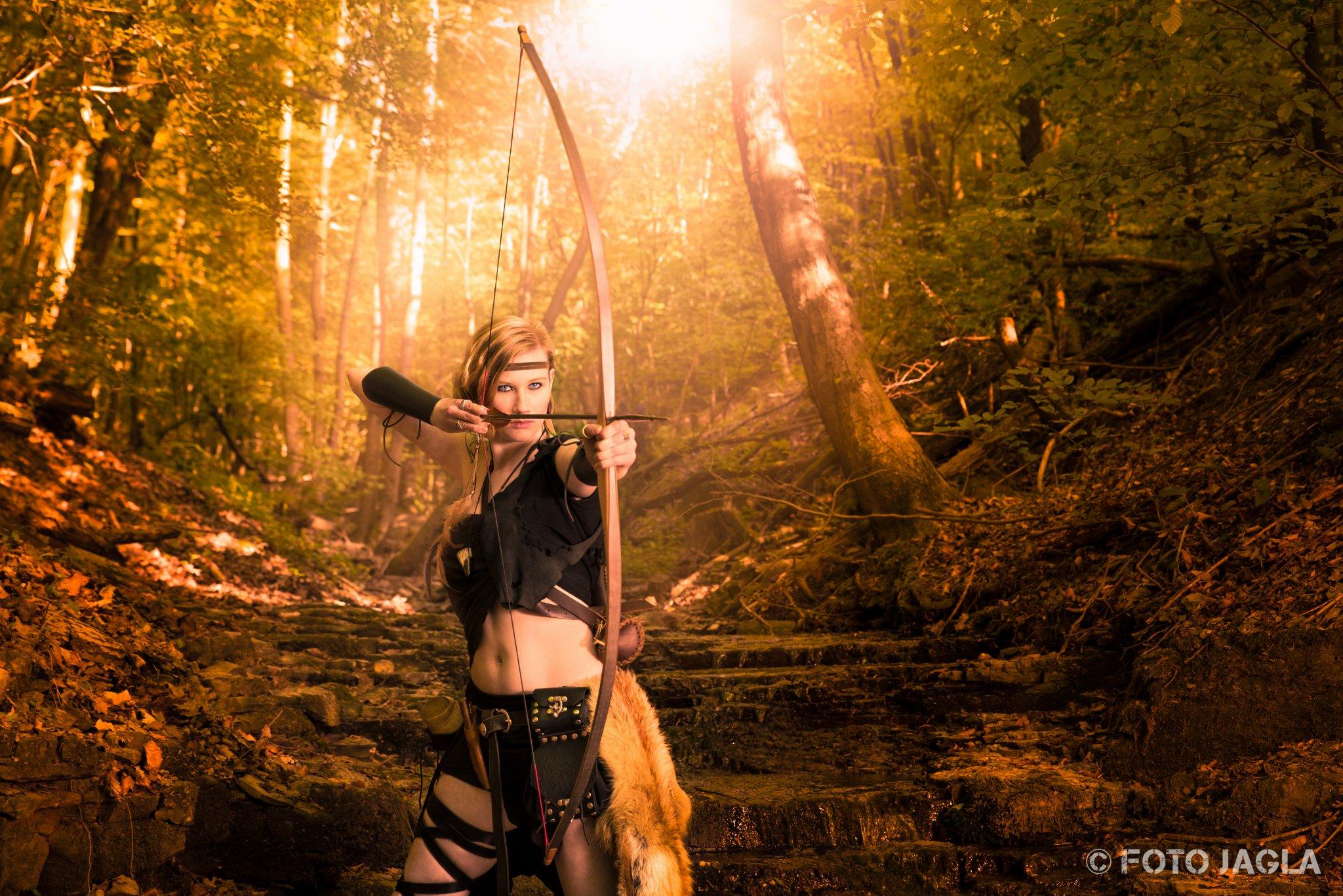 Fantasy Amazonen Shooting mit Model Nahtúl, Mai 2015
