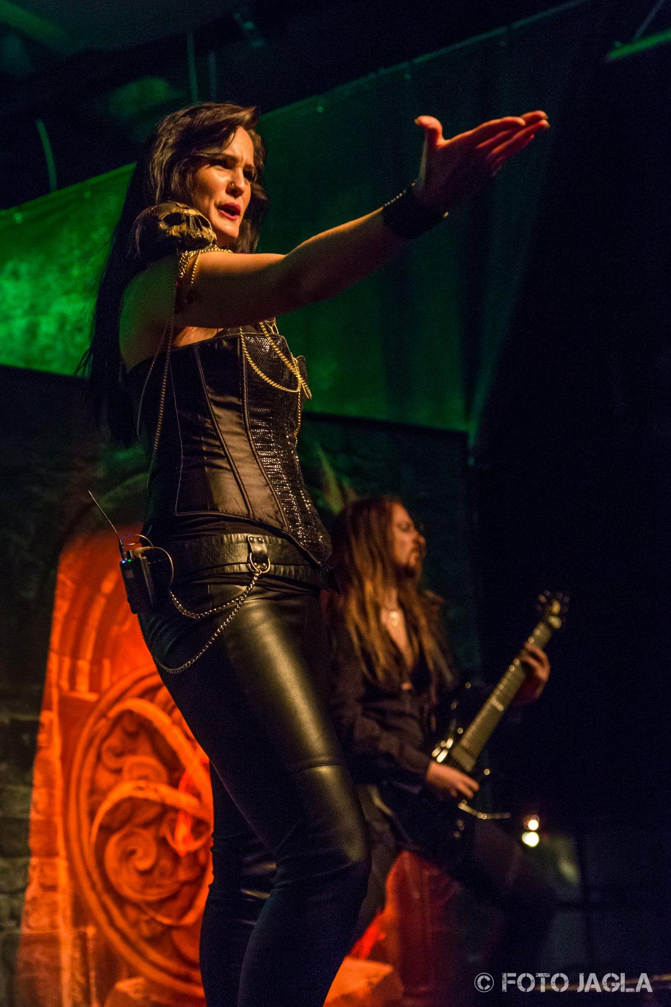 Xandria als Support-Band auf der Wolfsnächte Tour 2015 von Powerwolf am 05.09.2015 in der Live Music Hall in Köln