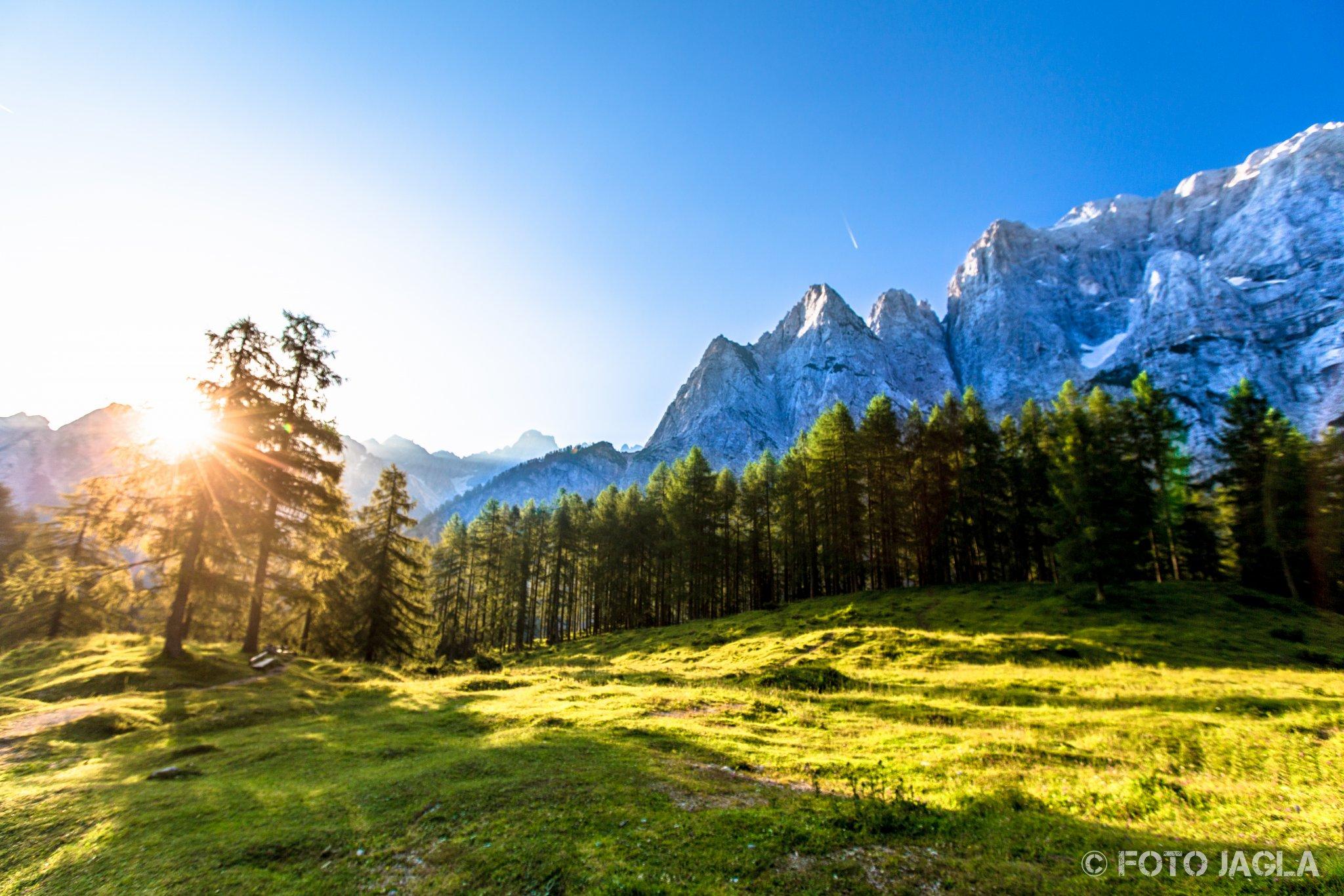 Slowenien im Sommer 2014 in der Nähe von Tolmin