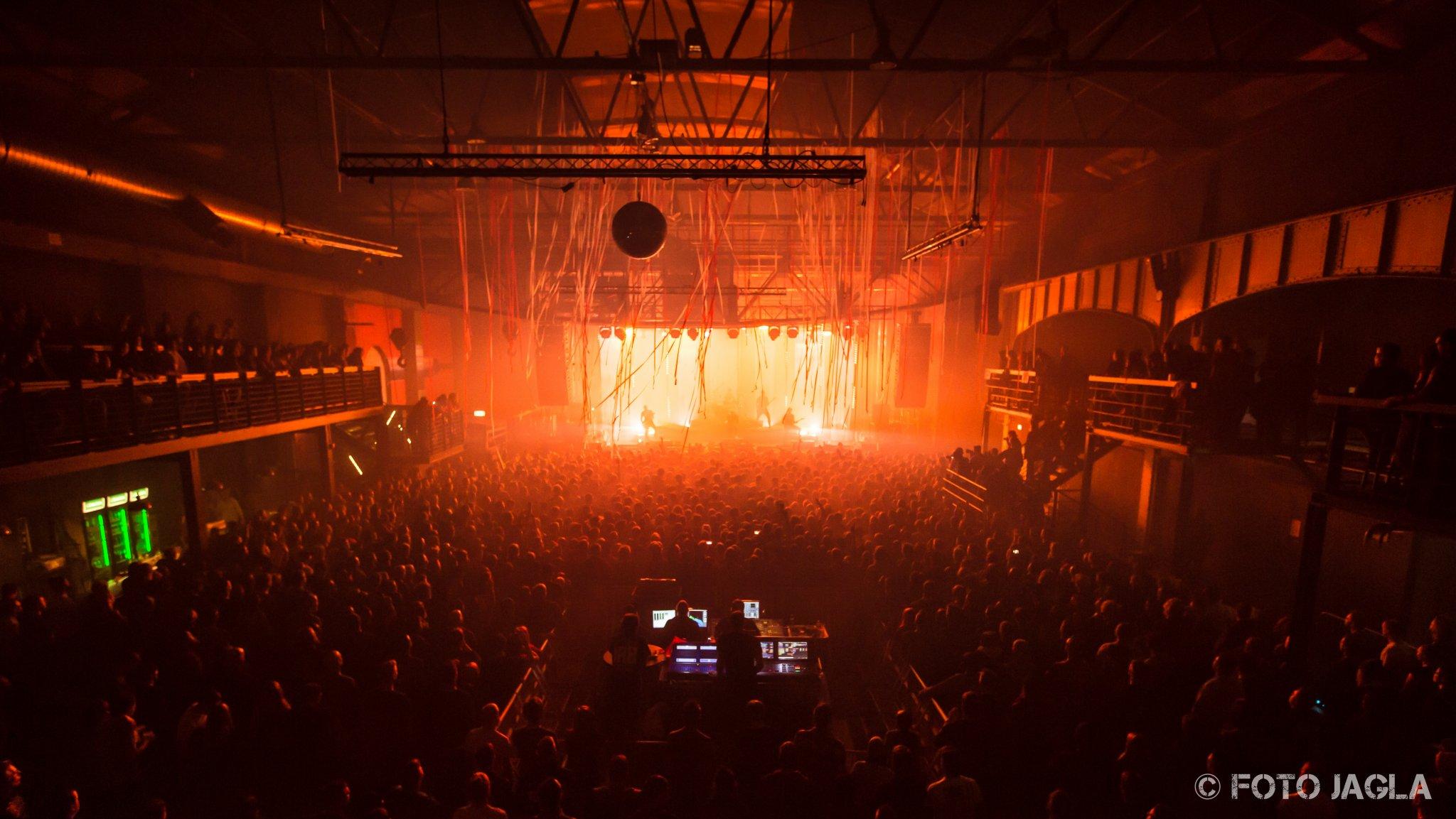Parkway Drive Tour am 18.02.2016 in der Turbinenhalle Oberhausen