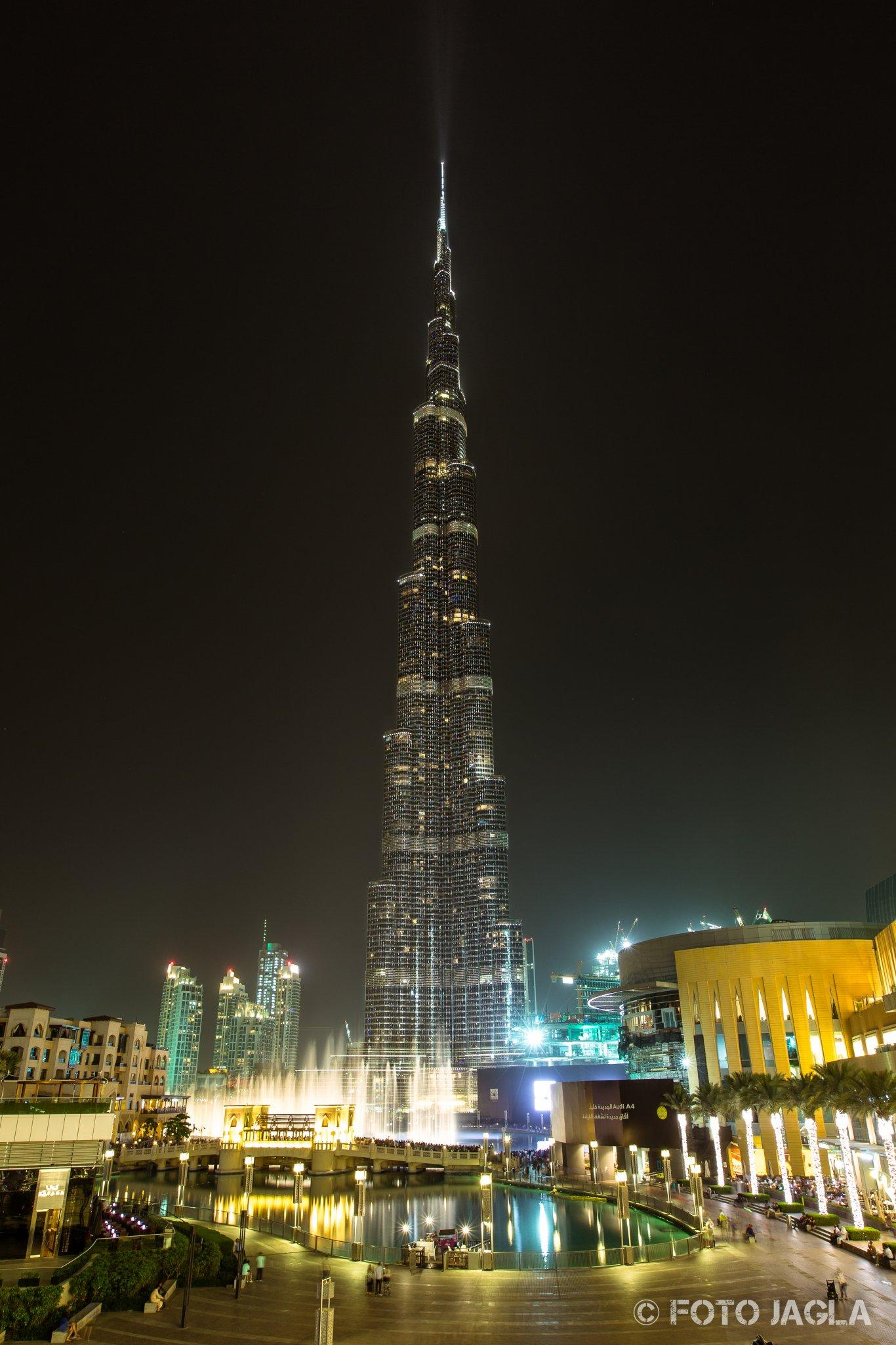 Burj Khalifa in Dubai  (Vereinigte Arabische Emirate)