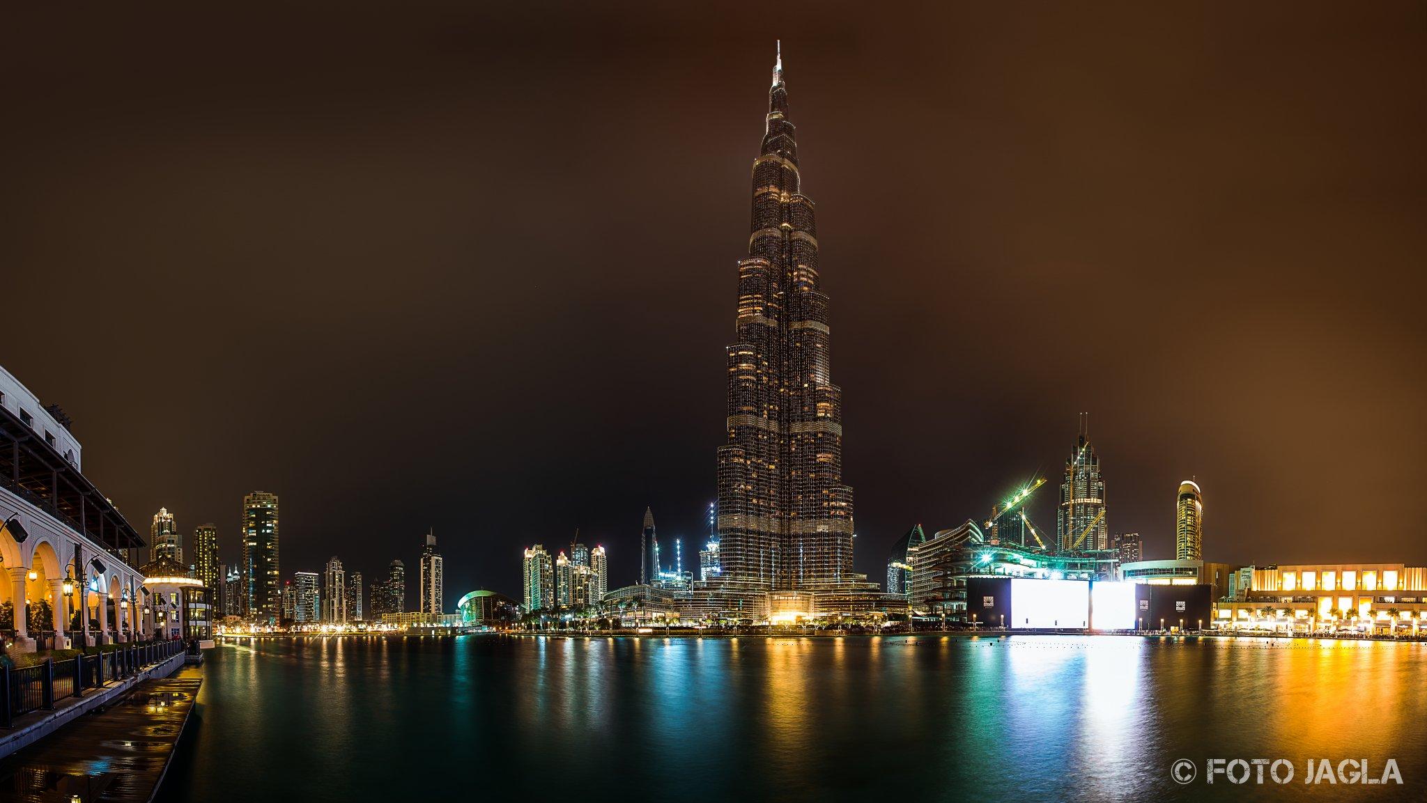 Panorama von der Burj Khalifa in Dubai  (Vereinigte Arabische Emirate)