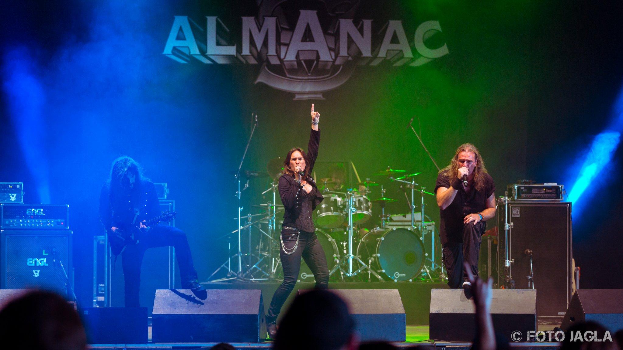 ALMANAC auf dem Summer Breeze 2016 in Dinkesbühl (T-Stage)