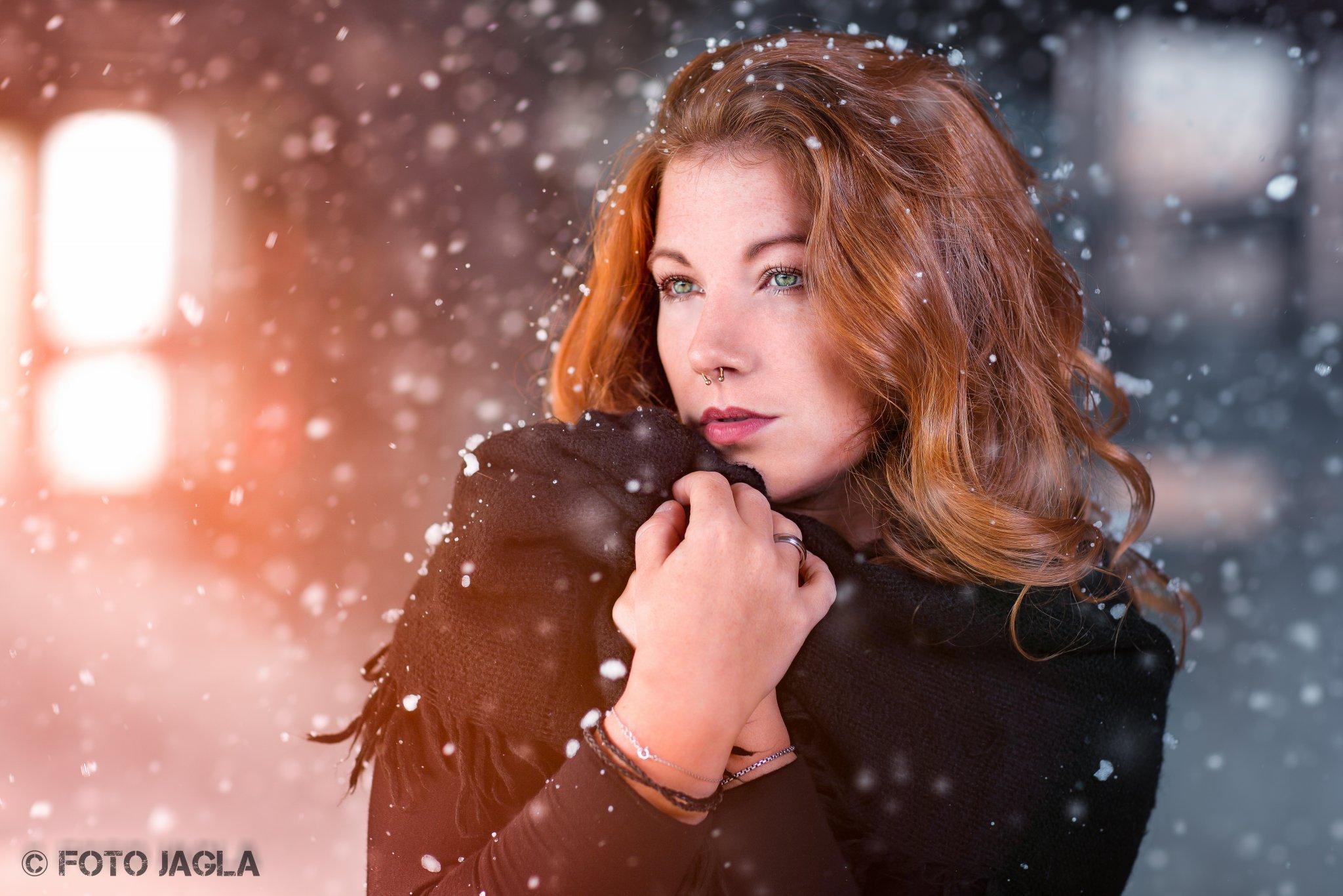 The winter is coming ::. Outdoor Beauty Shooting Model: Maja Makeup & Hair: Christina Löhr