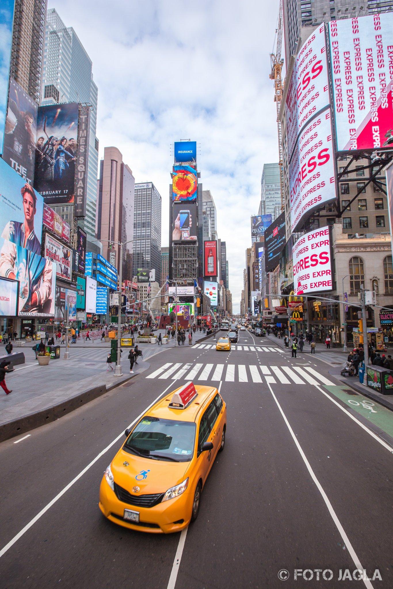 New York Time Square Januar 2017