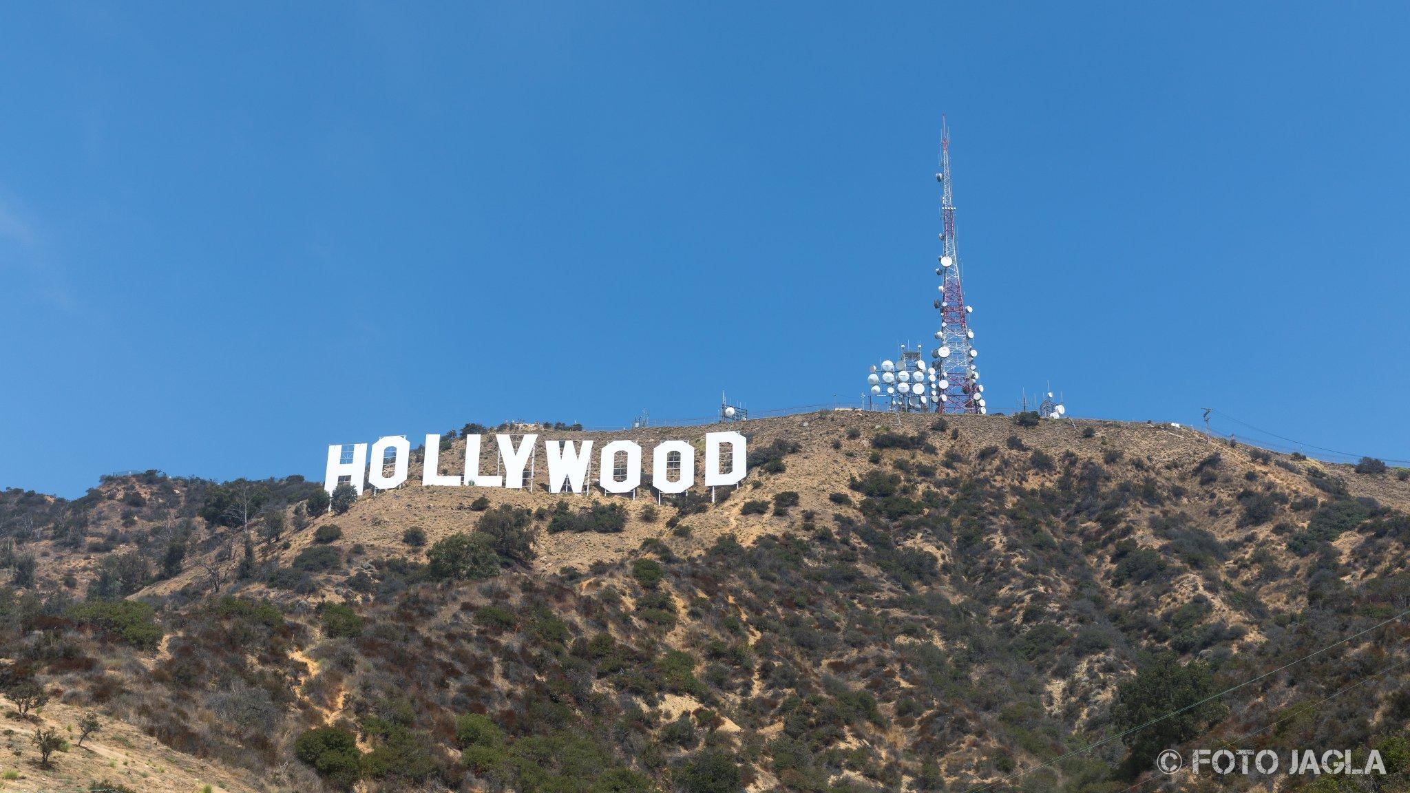 Kalifornien - September 2018 Hollywood Sign Los Angeles - Hollywood