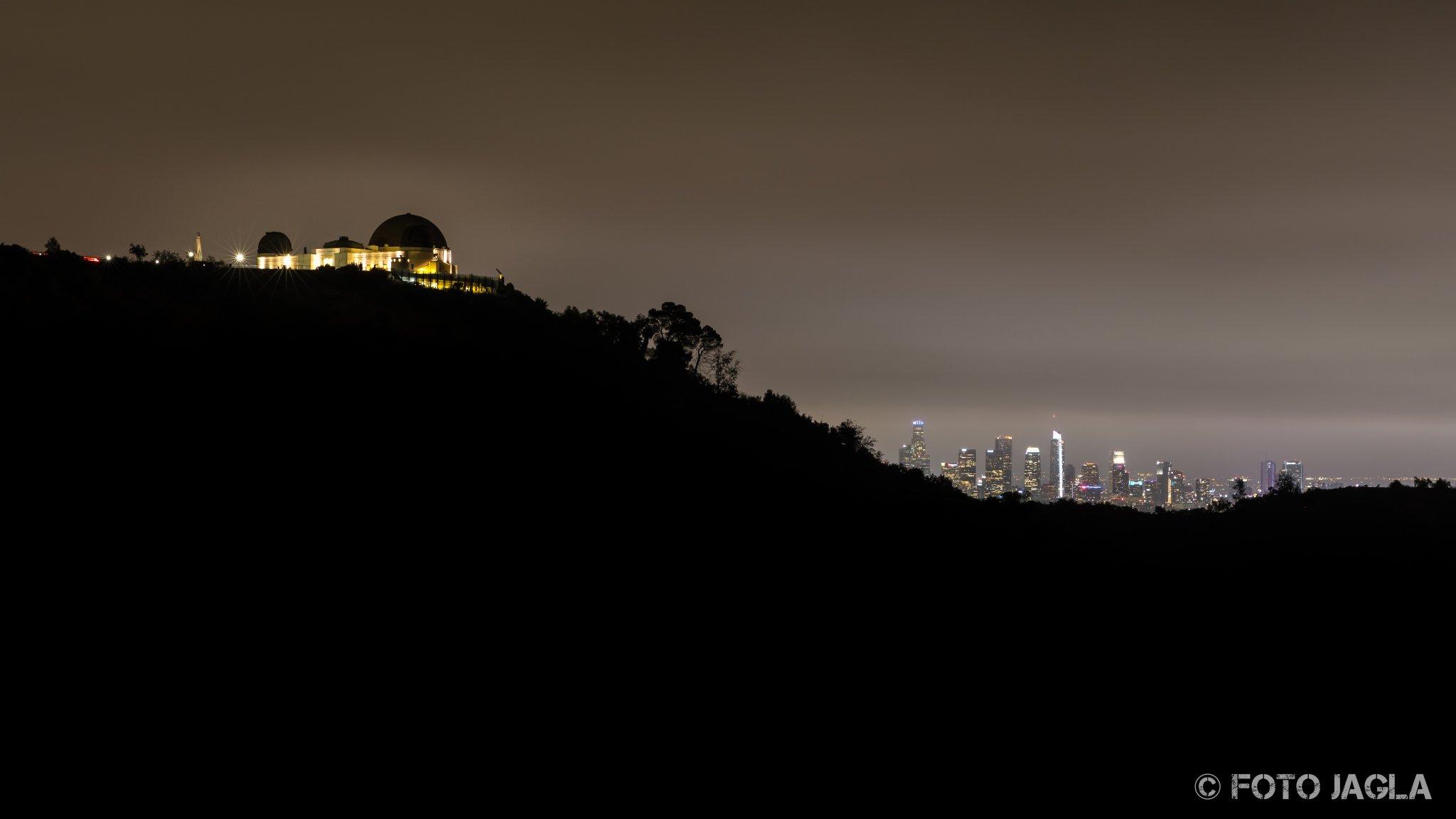 Kalifornien - September 2018 Griffith-Observatorium Los Angeles