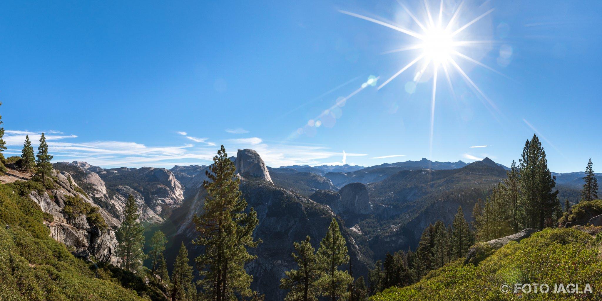 Kalifornien - September 2018 Aussicht vom Glacier Point Yosemite National Park - Yosemite Valley, Mariposa Country