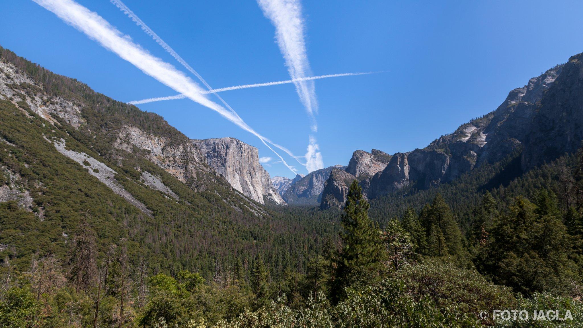 Kalifornien - September 2018 Yosemite Tunnel View - Wawona Road Yosemite National Park - Yosemite Valley, Mariposa Country