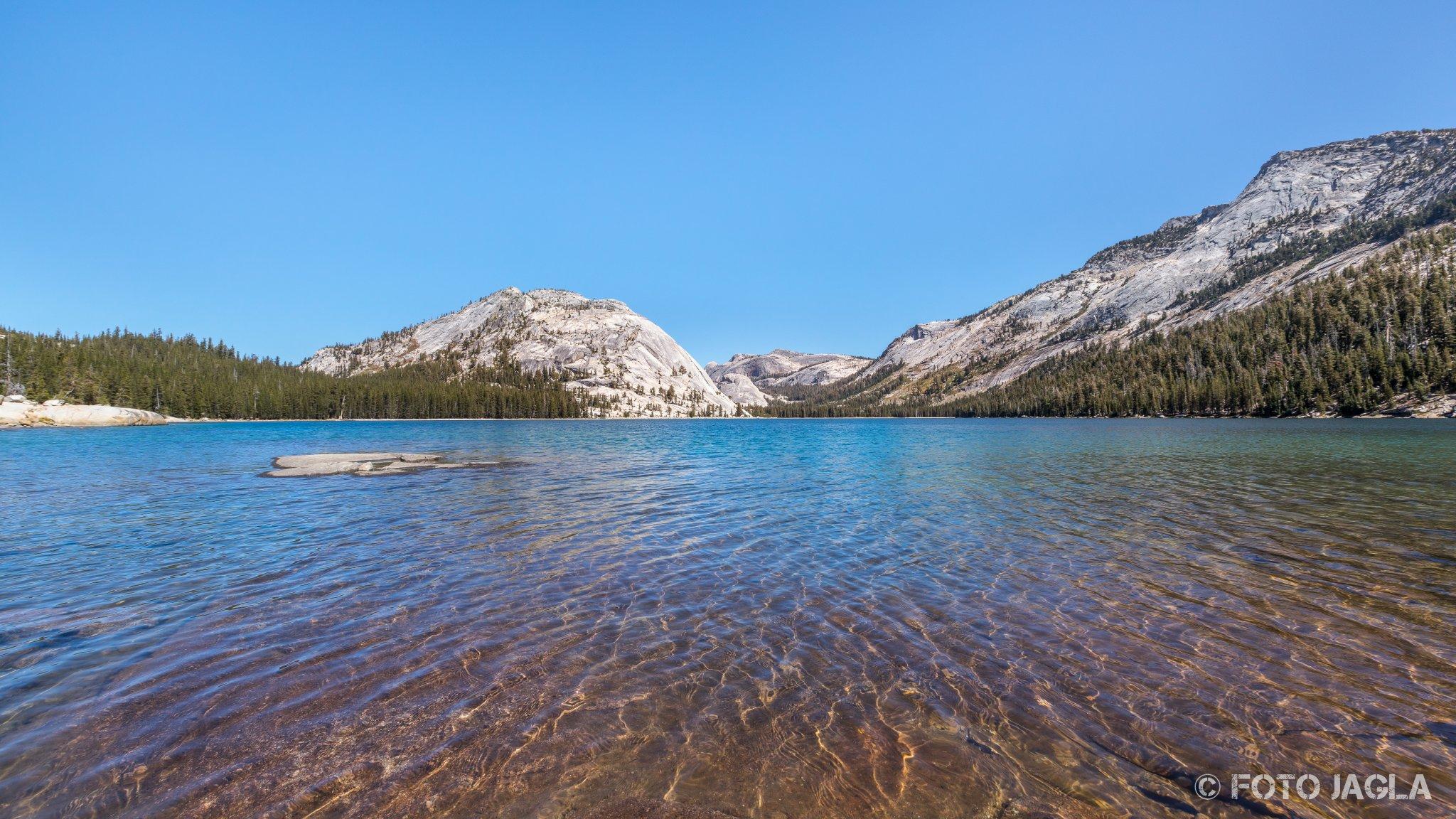 Kalifornien - September 2018 Tenaya Lake Yosemite National Park - Wawona