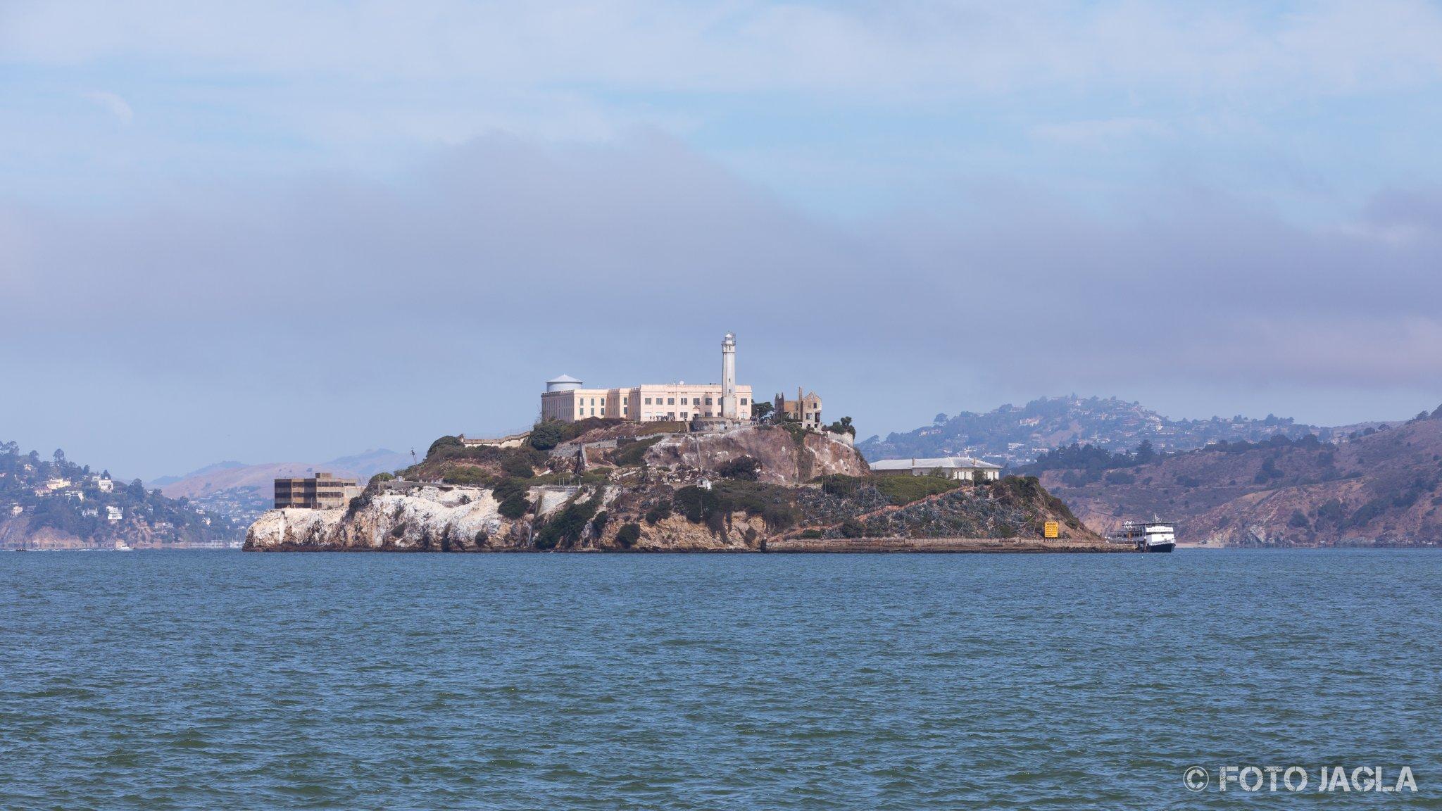Kalifornien - September 2018 Das ehemalige Hochsicherheitsgefängnis Alcatraz San Francisco - Alcatraz Island