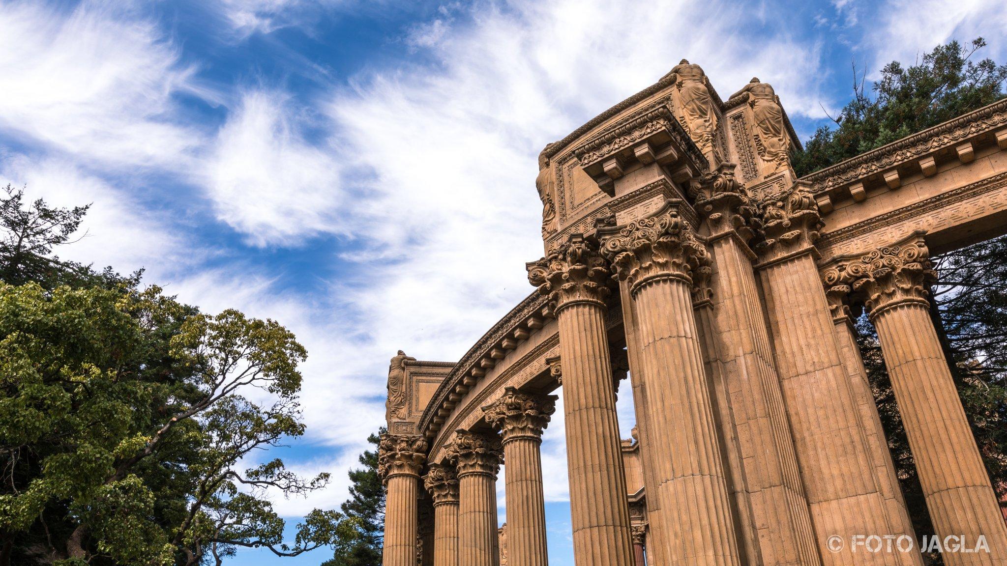 Kalifornien - September 2018 Palace of Fine Arts Museum San Francisco - Marina District