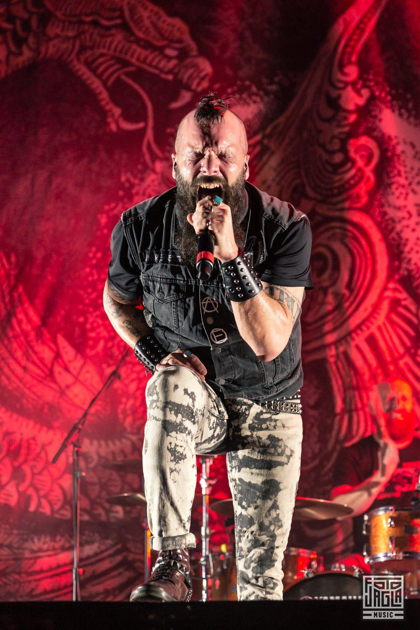 Killswitch Engage als Support-Act auf der Parkway Drive Reverence Tour 2019 in Köln (Palladium)