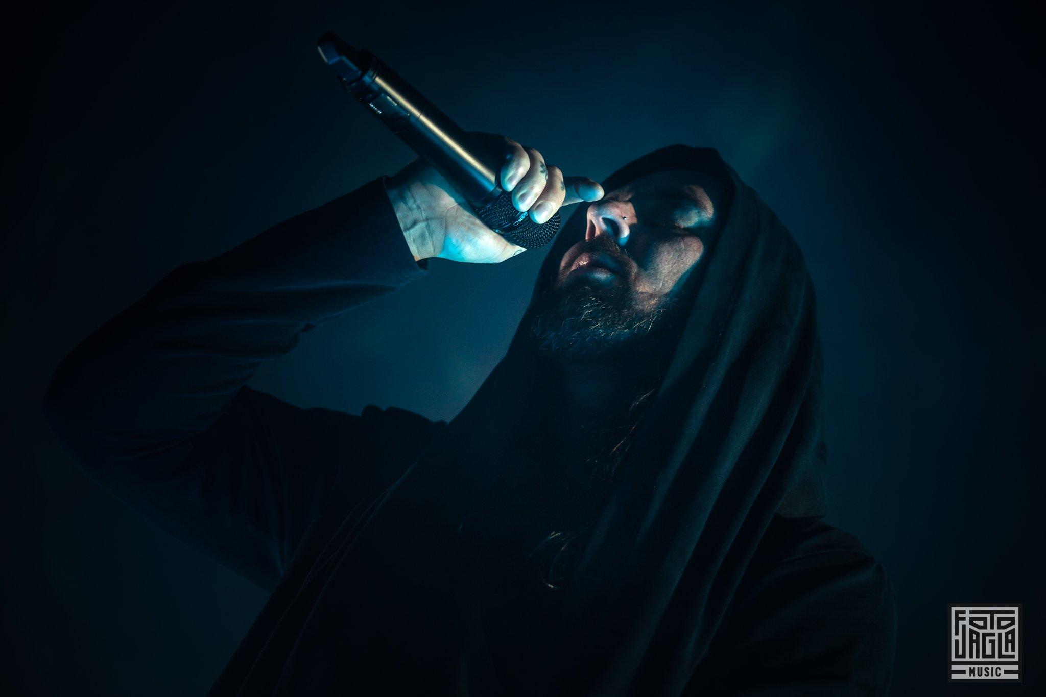 Thy Art Is Murder als Support-Act auf der Parkway Drive Reverence Tour 2019 in Köln (Palladium)