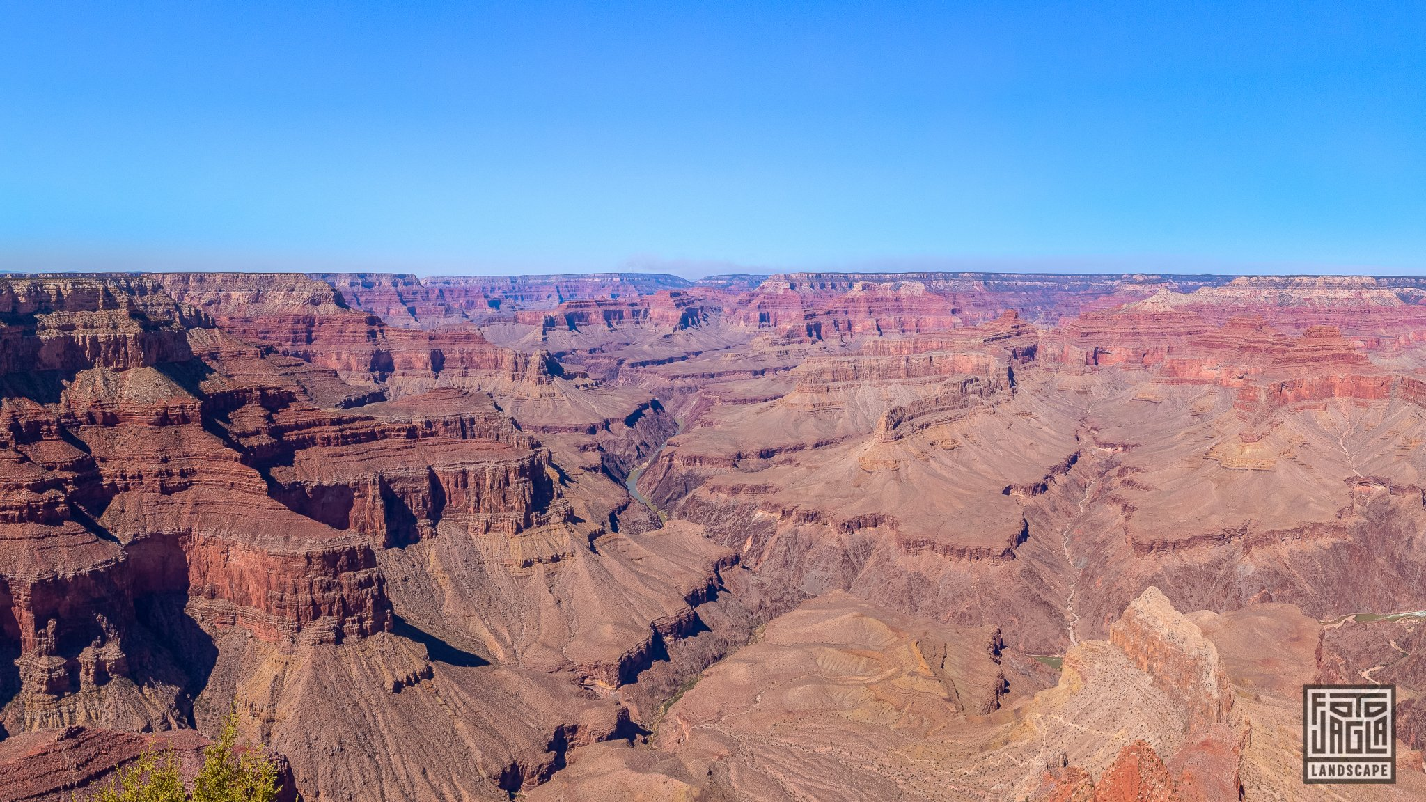 Pima Point in Grand Canyon Village Arizona, USA 2019