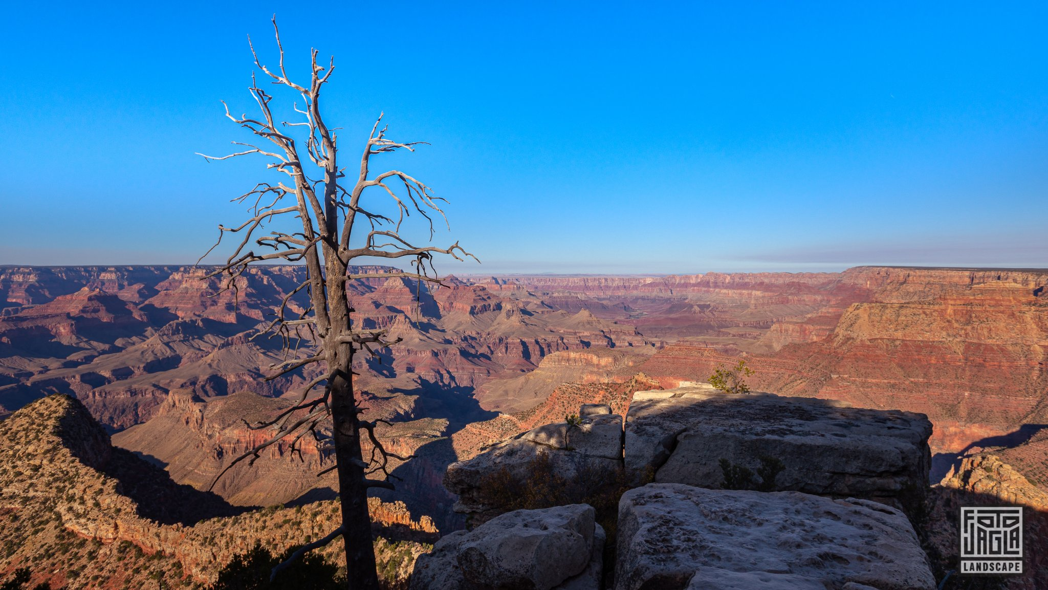 Grand Viewpoint in Grand Canyon Village Arizona, USA 2019