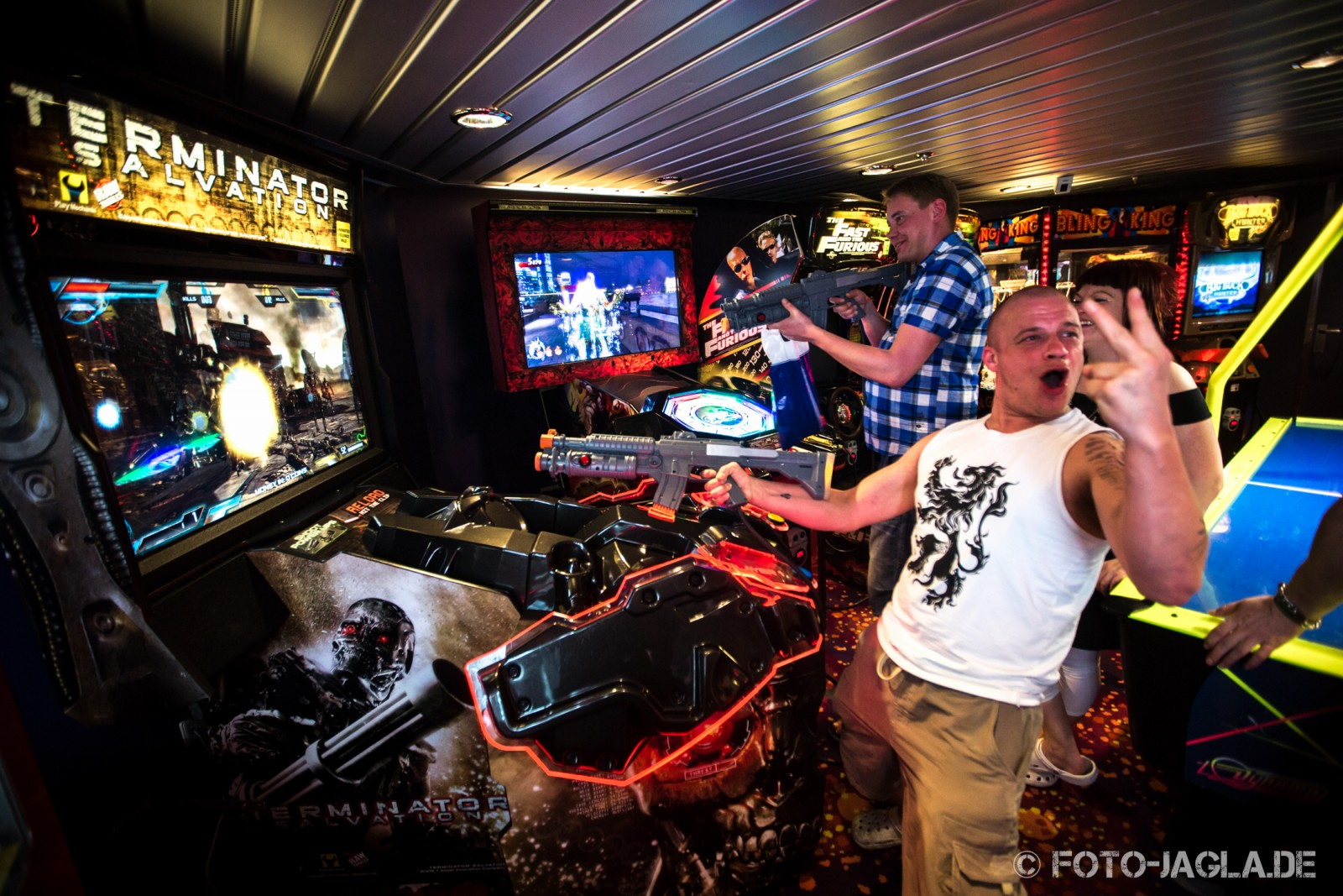 70000 Tons of Metal 2013 ::. Amusement room ::. http://www.foto-jagla.de