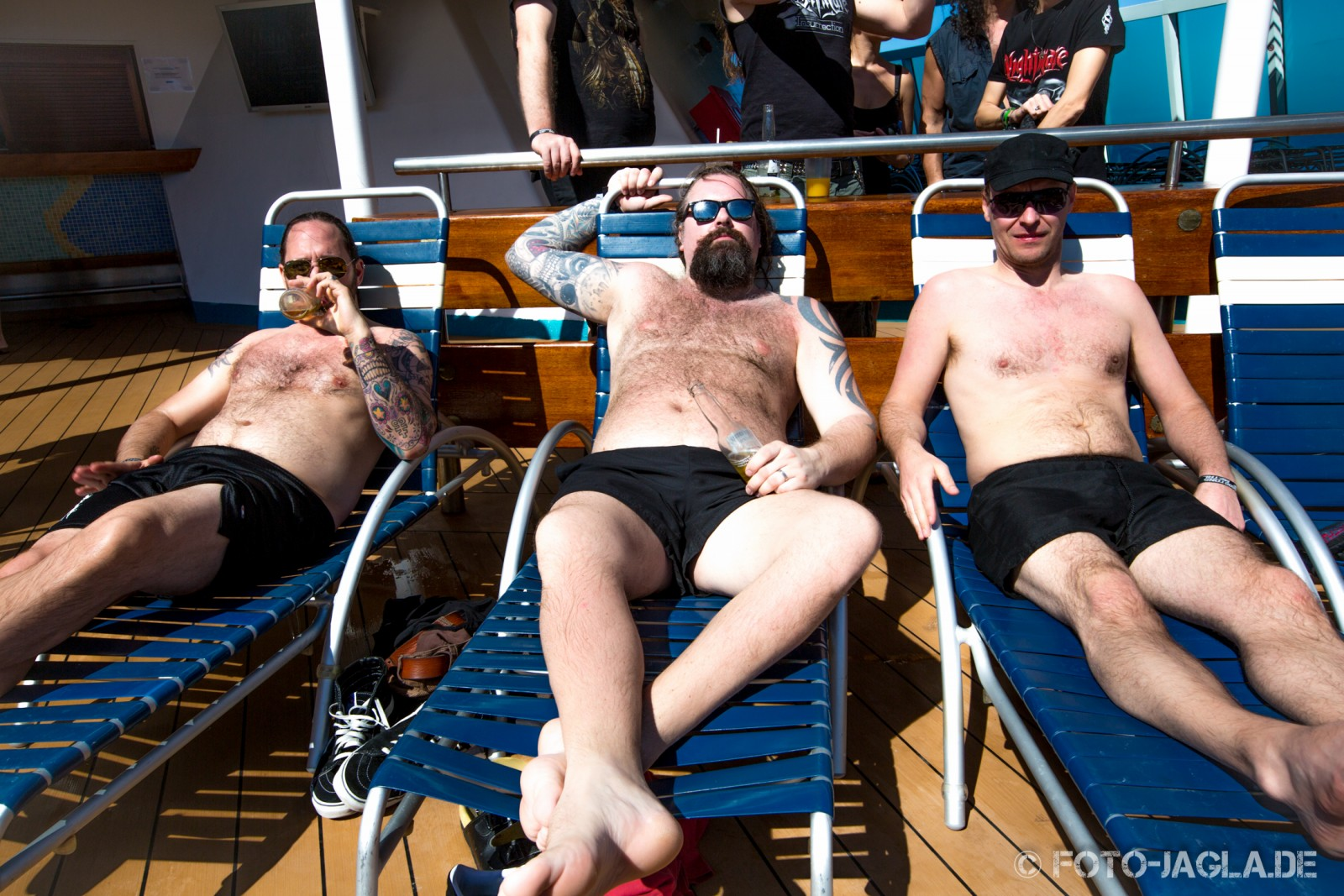 70000 Tons of Metal 2013 ::. In Flames chilling on Pooldeck ::. http://www.foto-jagla.de