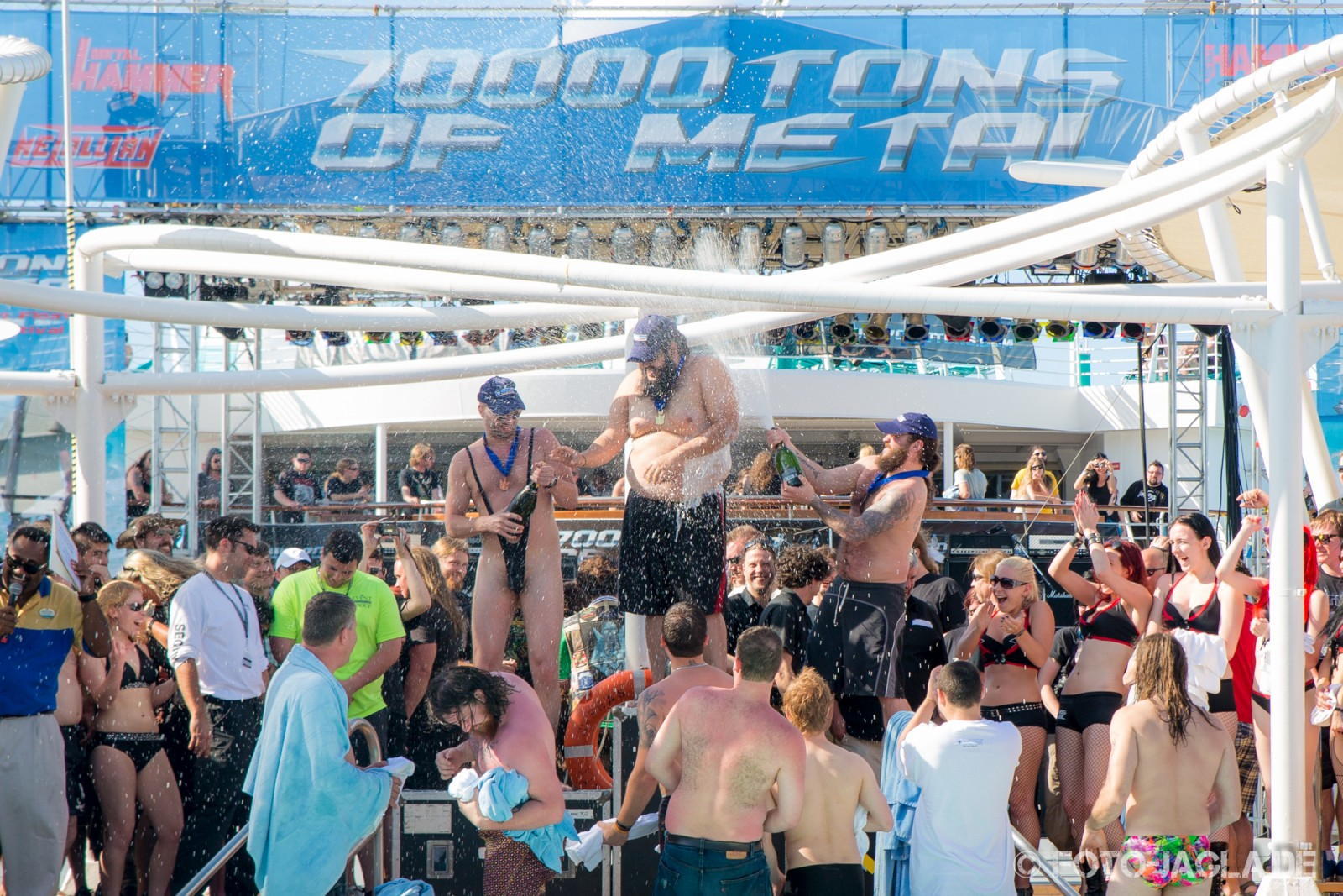 70000 Tons of Metal 2013 ::. Winner of Belly Flop Contest ::. http://www.foto-jagla.de