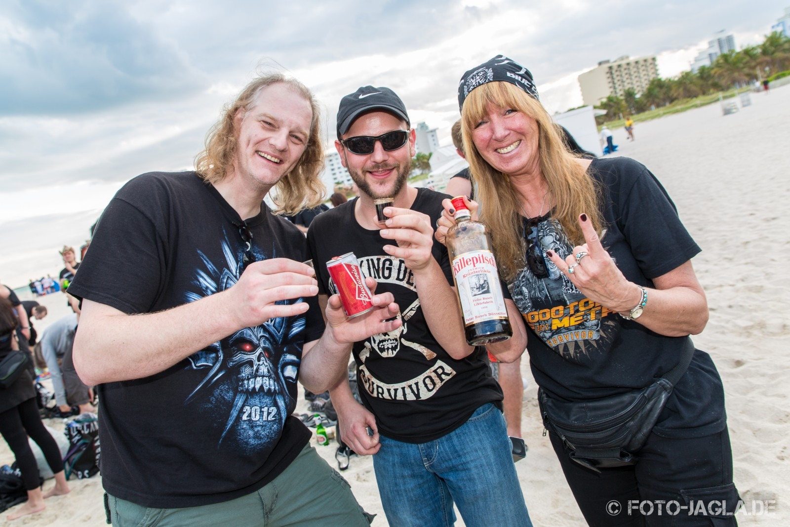 70000 Tons of Metal 2014 ::. Beachparty @ South Beach, Miami