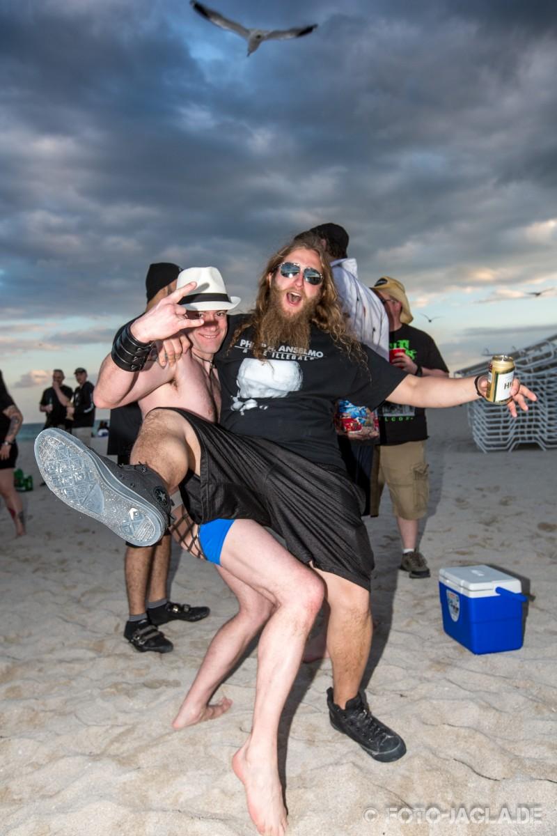 70000 Tons of Metal 2014 ::. Beachparty @ South Beach, Miami