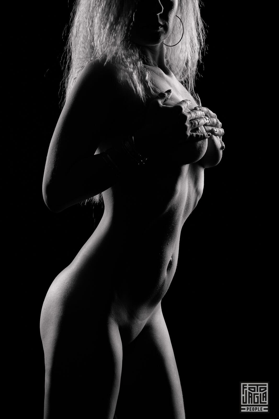 Low Key Akt Fotografie Erotik