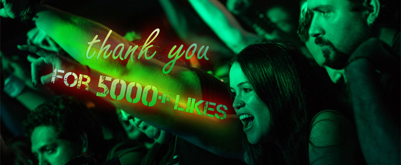 Thank you for 5000 likes on Facebook
